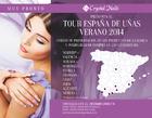 Tour Crystal Nails por ciudades de España - Agosto 2014