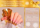 30 de Noviembre - Valencia - Curso decoración Navideño Gel painting