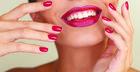 Para las fiestas de fin de año: Combina colores! Uñas , maquillaje y Estilo !