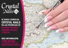 Se busca comercial Crystal Nails en Alicante, Valencia, Granada y Málaga !