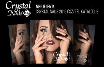 mukorom.hu - MEGJELENT! Crystal Nails 2016 ősz/tél katalógusa!
