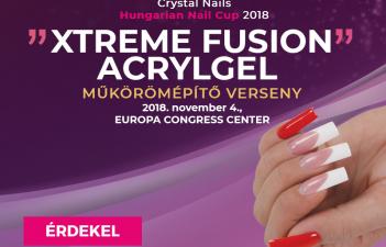 mukorom.hu - Crystal Nails Körmösnap - Xtreme Fusion AcrylGel műkörömépítő verseny