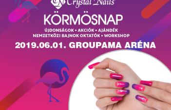 mukorom.hu - Crystal Nails Körmösnap 2019 Nyár