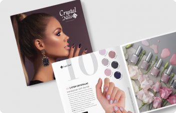 mukorom.hu - Megjelent! Crystal Nails 2019 Ősz/Tél katalógus