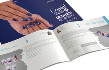 mukorom.hu - Megjelent! Crystal Nails Oktatási kézikönyv 2019/2020 Tél