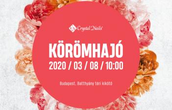 mukorom.hu - Crystal Nails Körömhajó 2020 Tavasz