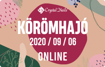 mukorom.hu - Crystal Nails Körömhajó 2020 Ősz