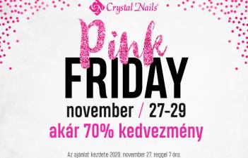 mukorom.hu - Crystal Nails - Pink Friday