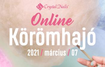 mukorom.hu - Most vasárnap - Crystal Nails Körömhajó 2021 Tavasz