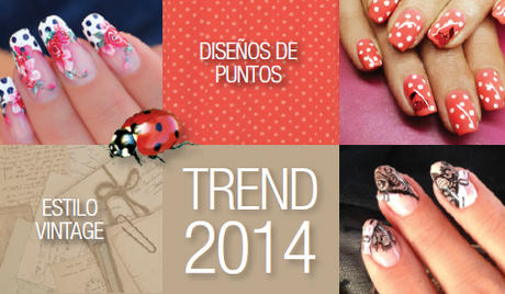 Best Nails - Tendencias de uñas 2014  - Lo ultimo en uñas Nail Art