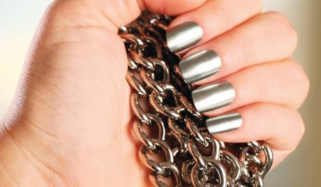 Best Nails - Модний манікюр весни 2015: Металік, стрази і червоний колір
