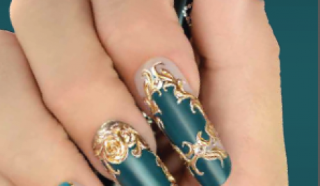 Best Nails - Luxury Gold Nails