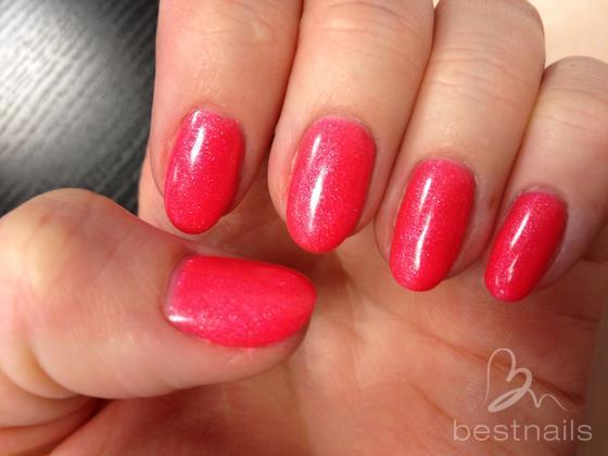 Jenna Hamilton - Neon sparkling pink  - 2014-03-06 16:25