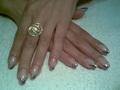Lila-rózsaszín-ezüst