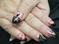 acryl nail decoration nail decorator