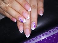 Best Nails - lilás virág