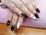 Best Nails - pók mintás
