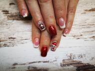 Best Nails - Karácsonyi festett
