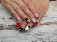 Best Nails - Mickey egér festve