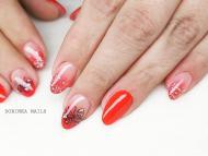 Best Nails - Piros pillangóval