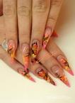 Best Nails - pillangók és virágok