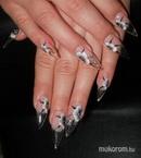 Best Nails - Annamária zselés üveg  akril díszítés