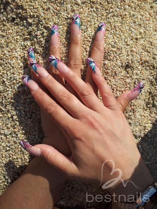 ISABEL ORTEGA GONZÁLEZ - summer nails - 2014-01-27 18:18