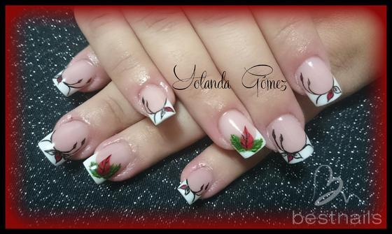 Love Nails by Yolanda Gómez - Uñas acrílico Navidad  - 2014-12-28 13:03