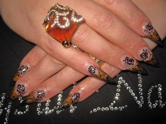 rilana de valk - acryl fading with handpainting - 2009-12-28 12:30