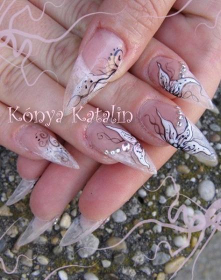 Kónya Katalin - zselé virág akrillal - 2010-04-10 20:10