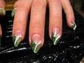 zöld stiletto (első)