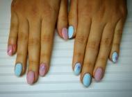 Best Nails - pulcsi mintás