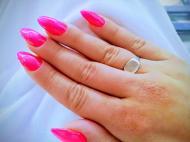Best Nails - neon porcelán