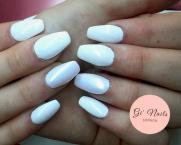 Best Nails - fehér kis aurórával