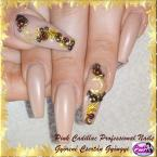 Best Nails - Gold nail art