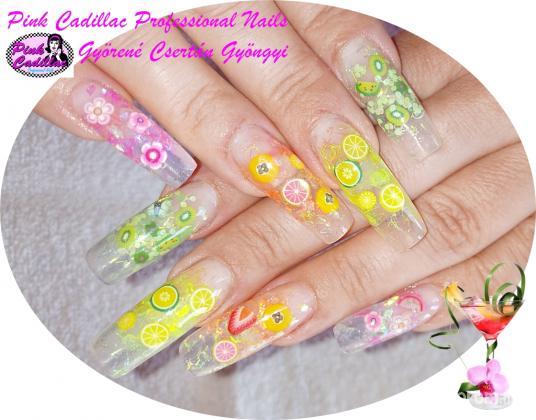 Gyöngyi Györené Csertán - Summer nail art - 2020-10-03 19:58