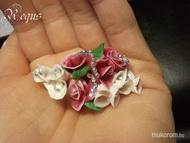 porcelán gyűrű