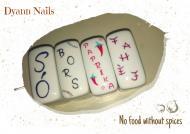 Best Nails - Fűszertartók zselével festve