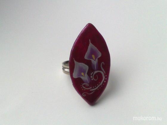 Klinkó Anett - Kála bordó alapon gyűrű - 2011-03-10 11:45