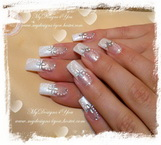 Best Nails - Easy Bridal Nails by MyDesigns4You