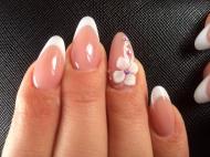 Best Nails - lace gel virág