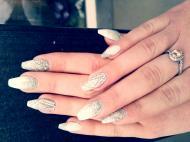 Best Nails - pezsgő fehér színek