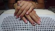 Best Nails - rozsa