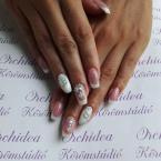 Best Nails - Csupa köves francia körmök