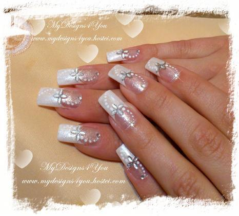 Liudmila Zacharova - Easy Bridal Nails by MyDesigns4You - 2013-09-20 17:48