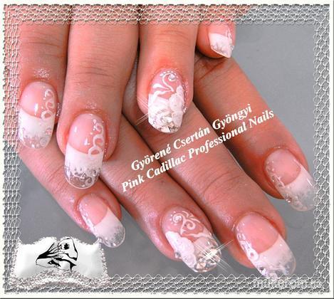Györené Csertán Gyöngyi - Pink Cadillac Professional Nails Körömszalon - Esküvőre - 2011-08-30 19:47