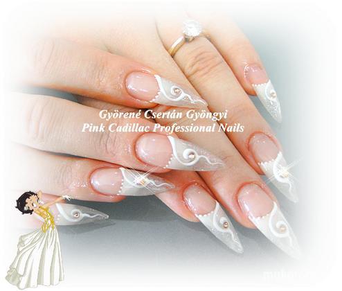 Györené Csertán Gyöngyi - Pink Cadillac Professional Nails Körömszalon - Esküvőre - 2011-08-30 19:51