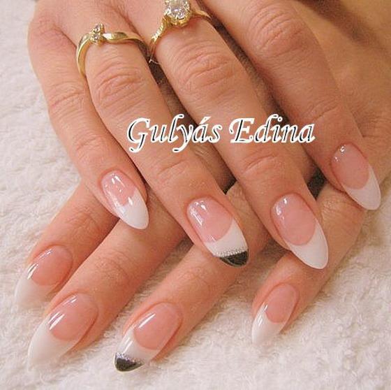 Wedding nail patterns - Bridal nails from the creators - 107.
