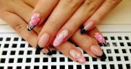 Best Nails - Fekete Pink