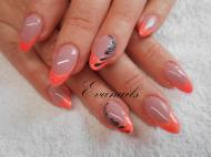 Best Nails - narancs